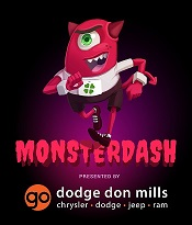 Monster Dash Toronto presented by Go Dodge Don Mills